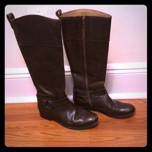Frye Women's Riding Boots Dark Brown  Size 8.5